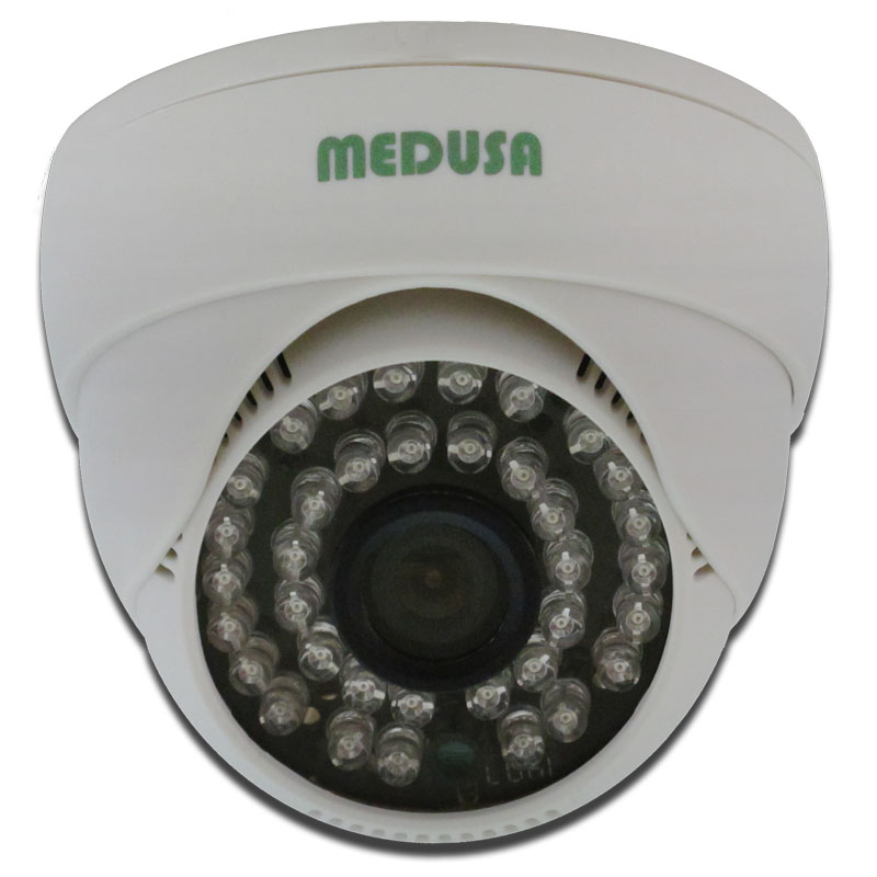MEDUSA CCTV Paket 4 Camera Dome 700 TVL VGA [KIT-TSH-401A] - White - IP Camera