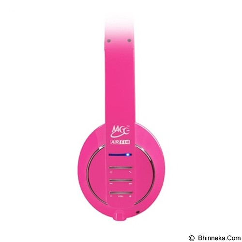 MEELECTRONICS Air-Fi Runaway Stereo Bluetooth Headphones with Microphone [AF32] - Pink - Headset Bluetooth