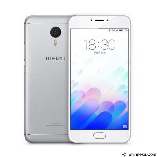 MEIZU M3S (16GB/2GB RAM) - Silver White (Merchant) - Smart Phone Android
