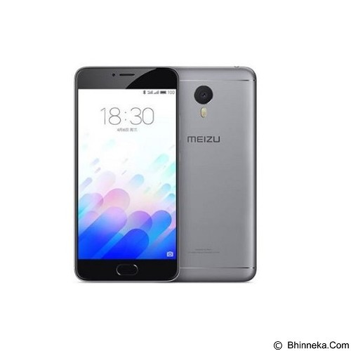 MEIZU M3S (32GB/3GB RAM) - Silver Black (Merchant) - Smart Phone Android