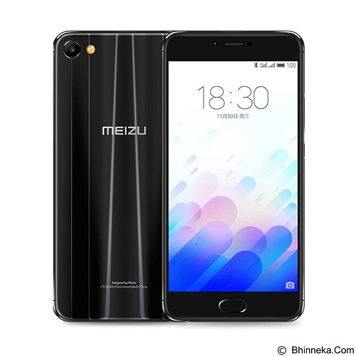 MEIZU M3X (32GB/3GB RAM) - Black (Merchant) - Smart Phone Android