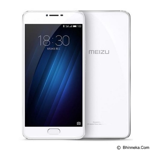 MEIZU Meizu U20 (32GB/3GB RAM) - Silver White (Merchant) - Smart Phone Android