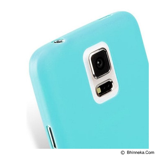 MELKCO Air Ultra Slim Samsung Galaxy S5 - Light Blue (Merchant) - Casing Handphone / Case