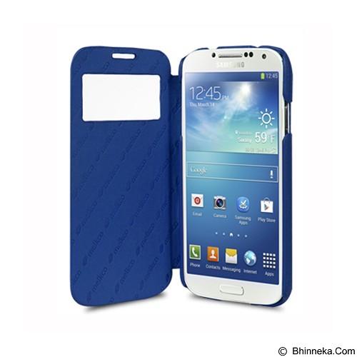 MELKCO Face Cover ID Samsung Galaxy S4 - Dark Blue (Merchant) - Casing Handphone / Case