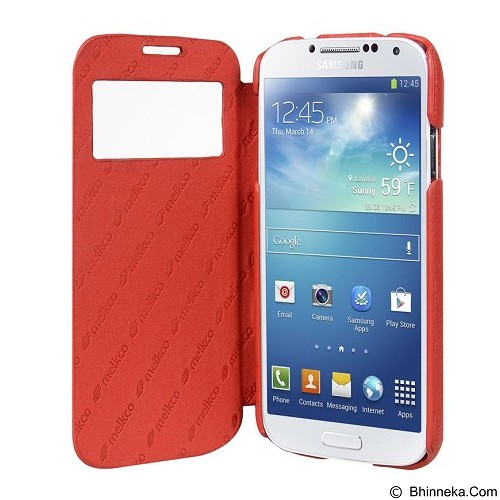 MELKCO Face Cover ID Samsung Galaxy S4 - Red (Merchant) - Casing Handphone / Case