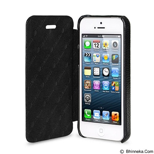 MELKCO Face Cover for Apple iPhone 5S / 5 - Black (Merchant) - Casing Handphone / Case