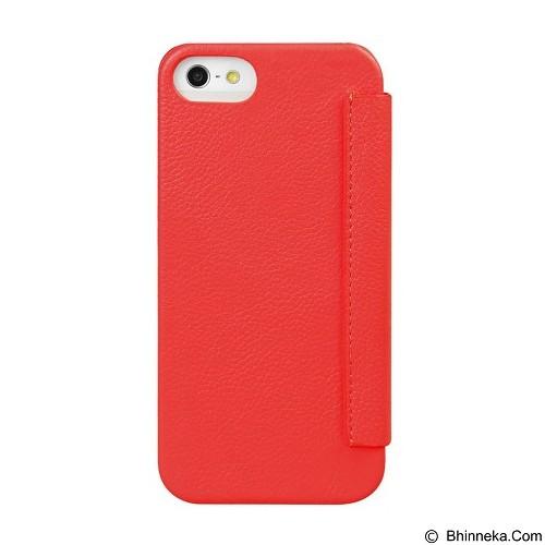 MELKCO Face Cover for Apple iPhone 5S / 5 - Red (Merchant) - Casing Handphone / Case