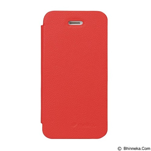 MELKCO Face Cover for Apple iPhone 5S / 5 - Red (Merchant) - Casing Handphone / Case