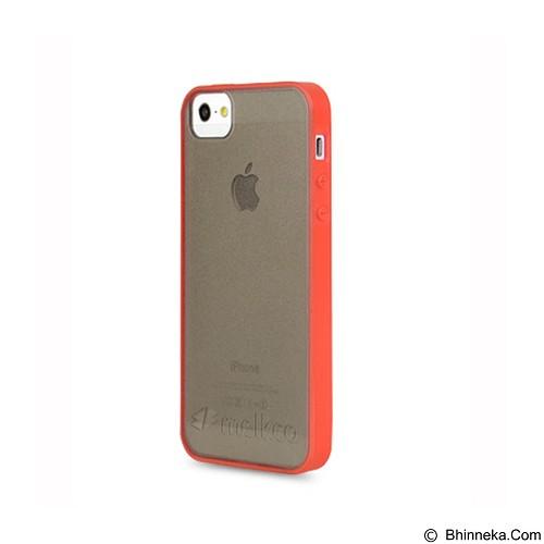 MELKCO Poly Frame Hybrid Case Apple iPhone 5S/5 - Black/Red (Merchant) - Casing Handphone / Case