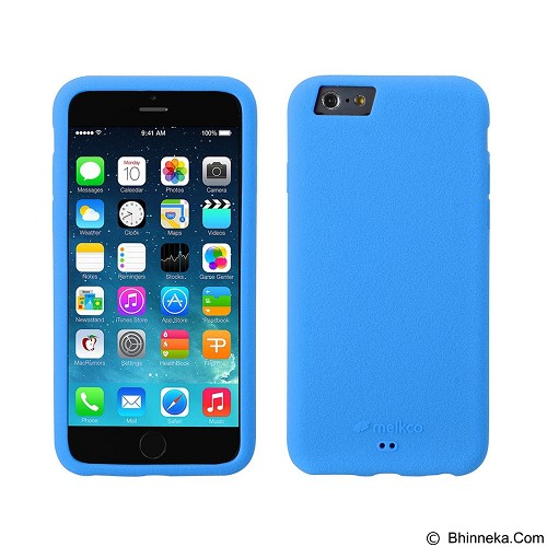 MELKCO Silikonovy Apple iPhone 6/6s - Blue (Merchant) - Casing Handphone / Case