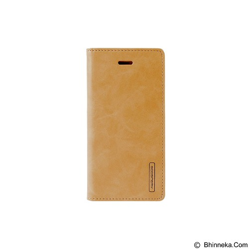MERCURY Bluemoon Flip Cover Apple iPhone 7 4.7 Inch - Gold (Merchant) - Casing Handphone / Case