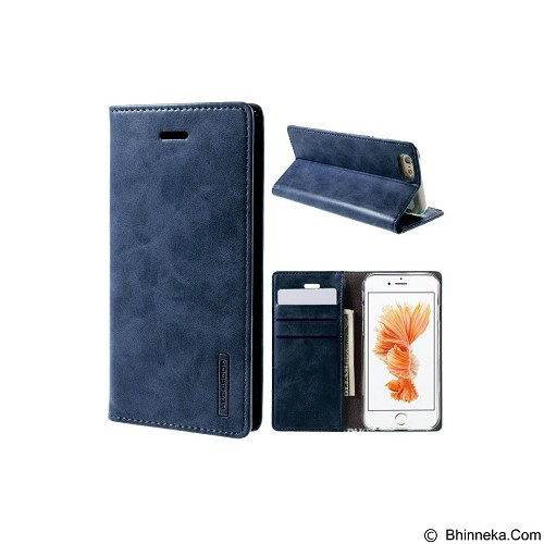 MERCURY Bluemoon Flip Cover Apple iPhone 7 4.7 Inch - Navy (Merchant) - Casing Handphone / Case