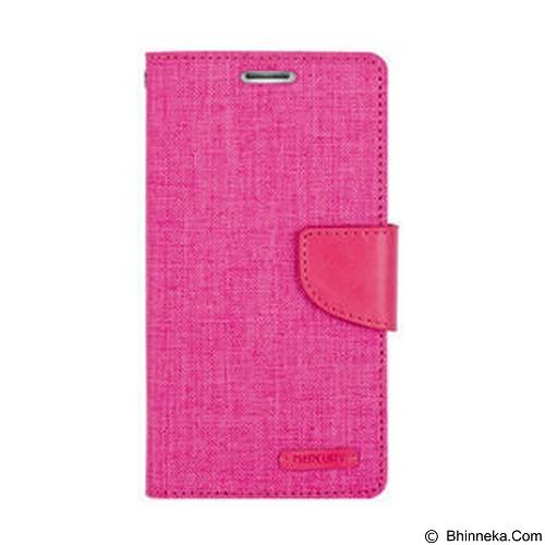 MERCURY Case Samsung Galaxy A7 Goospery Fancy Diary Canvas - Pink (Merchant) - Casing Handphone / Case
