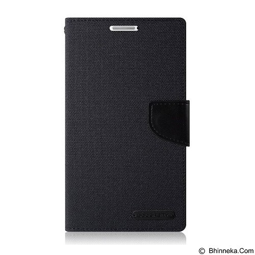 MERCURY Case Samsung Galaxy Young 2 G13 Goospery Fancy Diary Canvas - Black (Merchant) - Casing Handphone / Case
