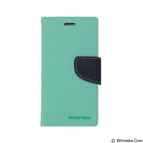 MERCURY Fancy Diary Oppo Find 5 Mini R827 - Mint / Navy (Merchant) - Casing Handphone / Case