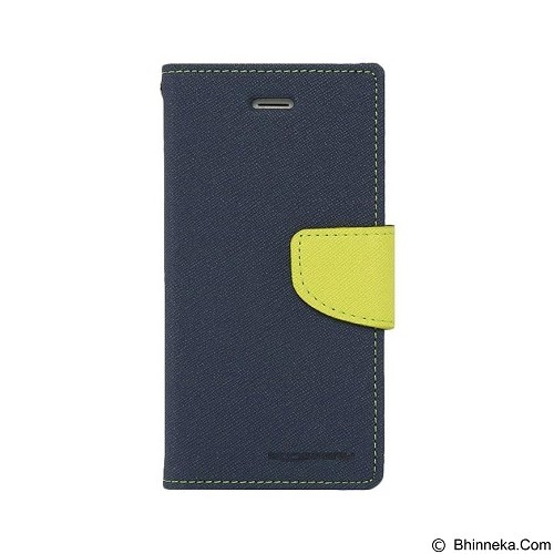 MERCURY Fancy Diary Samsung Galaxy A8 - Navy / Lime (Merchant) - Casing Handphone / Case