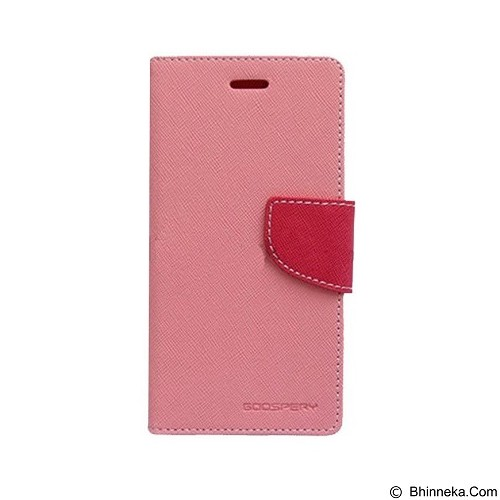 MERCURY Fancy Diary Samsung Galaxy Mega 5.8 - Pink / Hot Pin (Merchant) - Casing Handphone / Case