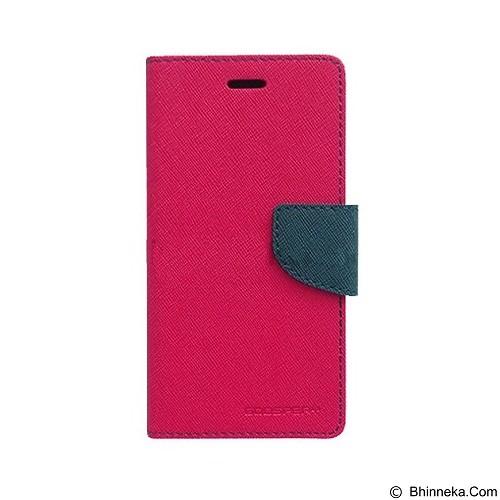MERCURY Fancy Diary Samsung Galaxy Note 3 Neo - Magenta/Navy Blue (Merchant) - Casing Handphone / Case
