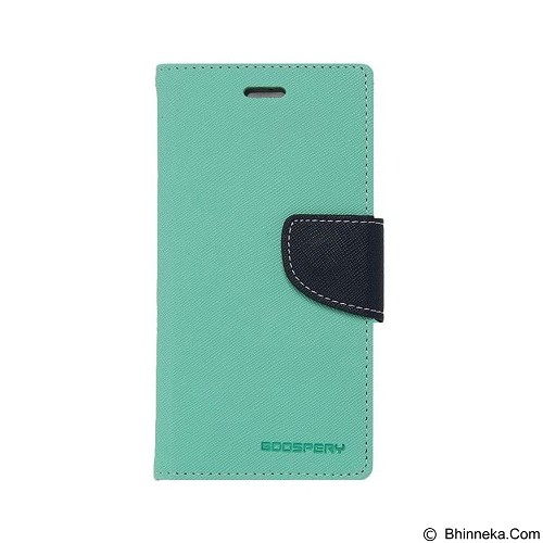 MERCURY Fancy Diary Sony Xperia M2 - Mint / Navy (Merchant) - Casing Handphone / Case