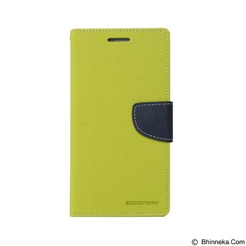 MERCURY Fancy Diary Xiaomi Redmi Note 2 - Lime / Navy (Merchant) - Casing Handphone / Case