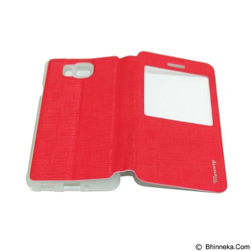 MERCURY Flipcover Case View for Samsung Galaxy Alpha G850 - Red (Merchant) - Casing Handphone / Case