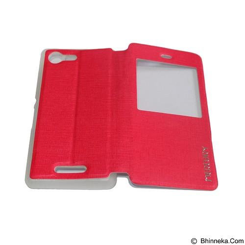 MERCURY Flipcover Case View for Sony Xperia E3 - Red (Merchant) - Casing Handphone / Case