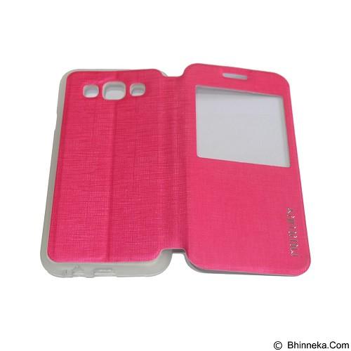 MERCURY Flipcover Case View for Samsung Galaxy E5 E500 - Pink (Merchant) - Casing Handphone / Case
