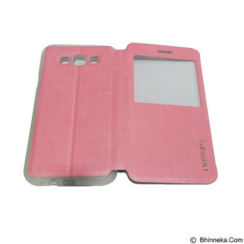 MERCURY Flipcover Case View for Samsung Galaxy E7 E700 - Soft Pink (Merchant) - Casing Handphone / Case