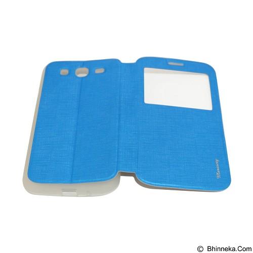 MERCURY Flipcover Case View for Samsung Galaxy Mega 5.8 i9150 - Blue (Merchant) - Casing Handphone / Case