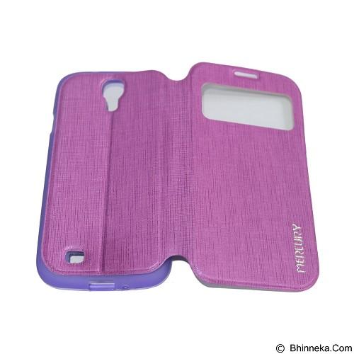 MERCURY Flipcover Case View for Samsung Galaxy S4 I9500 - Purple (Merchant) - Casing Handphone / Case