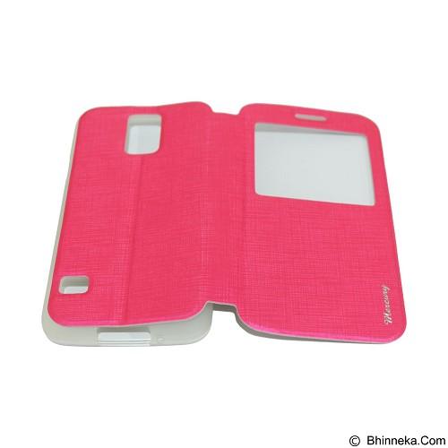 MERCURY Flipcover Case View for Samsung Galaxy S5 Mini i9600 - Pink (Merchant) - Casing Handphone / Case