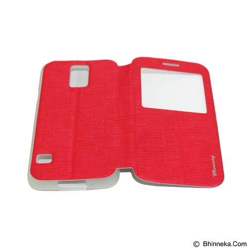 MERCURY Flipcover Case View for Samsung Galaxy S5 Mini i9600 - Red (Merchant) - Casing Handphone / Case
