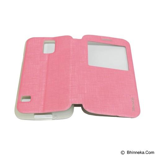 MERCURY Flipcover Case View for Samsung Galaxy S5 i9600 - Soft Pink (Merchant) - Casing Handphone / Case