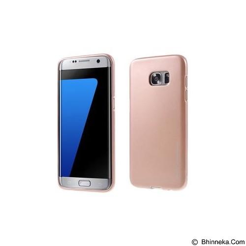 MERCURY I-Jelly Metal Case Samsung Galaxy S7 Edge - Rose Gold (Merchant) - Casing Handphone / Case