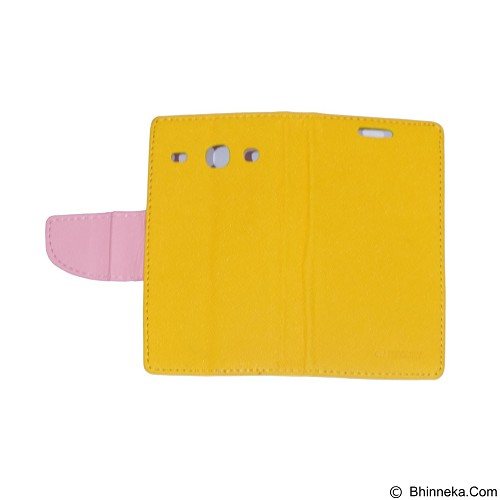 MERCURY Fancy Diary for Samsung Galaxy Core I8262 Duos - Yellow (Merchant) - Casing Handphone / Case