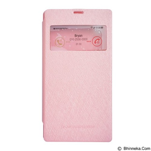 MERCURY Wow Bumper Samsung Galaxy Note 3 - Pink (Merchant) - Casing Handphone / Case