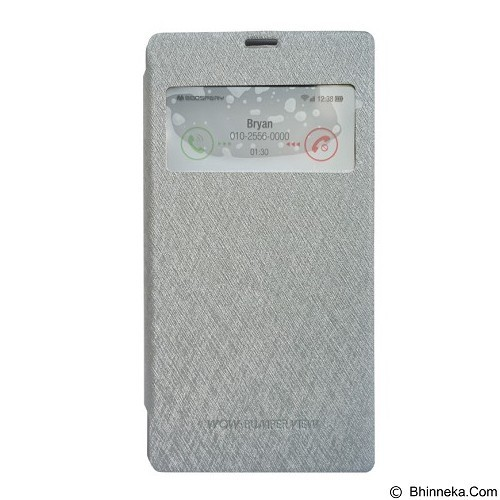 MERCURY Wow Bumper Xiaomi Note Pro - Grey (Merchant) - Casing Handphone / Case
