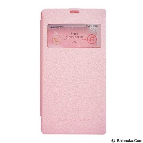 MERCURY Wow Bumper iPhone 4S - Pink (Merchant) - Casing Handphone / Case