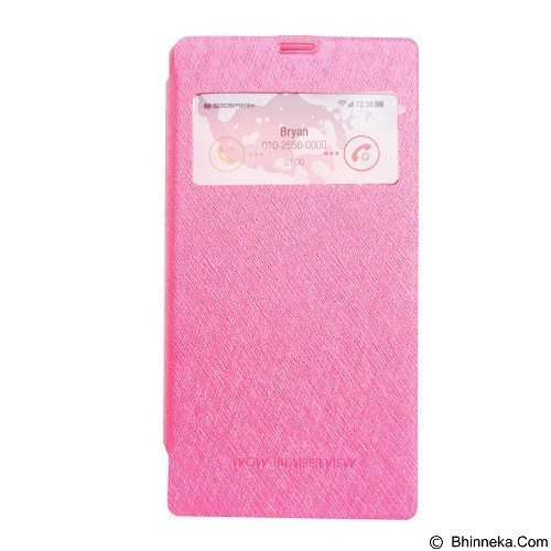 MERCURY Wow Bumper iPhone 5G - Magenta (Merchant) - Casing Handphone / Case