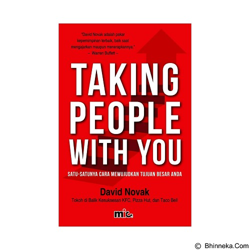 MIC PUBLISHING Taking People With You [MIC-MDC-BK-070] - Craft and Hobby Book