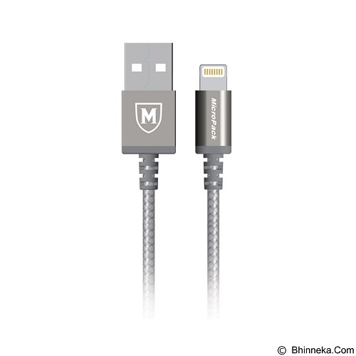 MICROPACK Data and Charging Cable MFI [2.4Ah] - Grey (Merchant) - Cable / Connector Usb