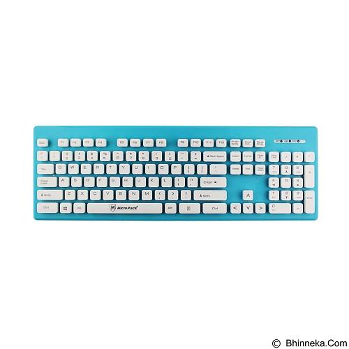 MICROPACK Keyboard USB [K-3204] - Blue (Merchant) - Keyboard Basic