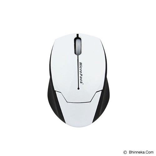 MICROPACK Mouse Double Lens [MP-Y279R]  - White - Mouse Basic