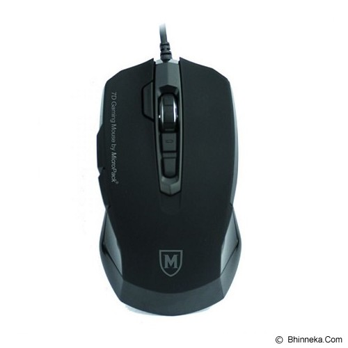 MICROPACK Mouse Gaming [G3 7D] - Black - Gaming Mouse