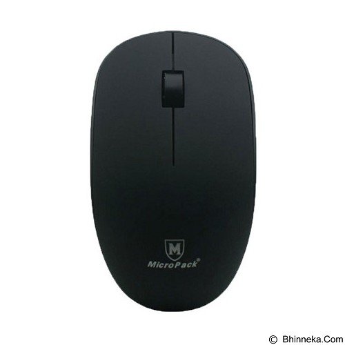 MICROPACK Mouse Wireless [MP-721W] - Black - Mouse Mobile