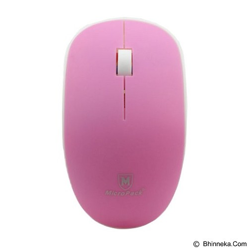 MICROPACK Mouse Wireless [MP-721W] - Pink - Mouse Mobile