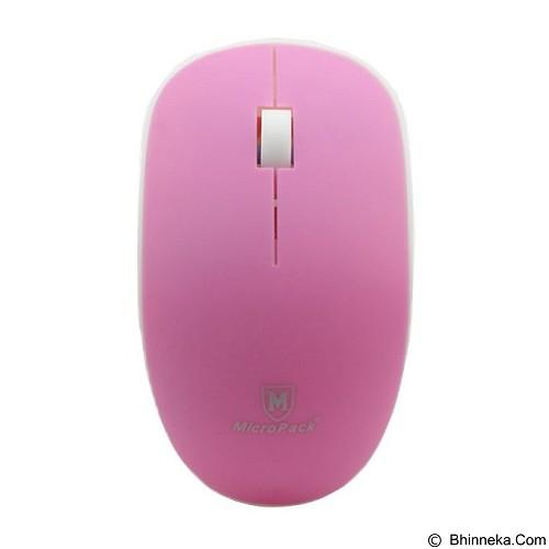 harga MICROPACK Mouse Wireless [MP-721W] - Pink Bhinneka.Com