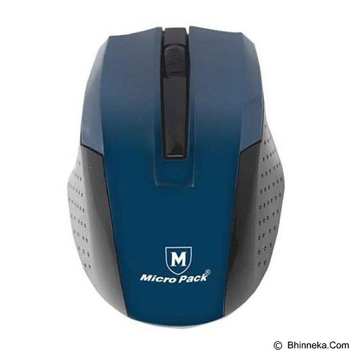 MICROPACK Mouse Wireless New [MP-769W] - Blue - Mouse Basic