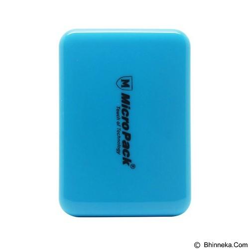 MICROPACK Powerbank 6000mAh [P610PS] - Blue - Portable Charger / Power Bank