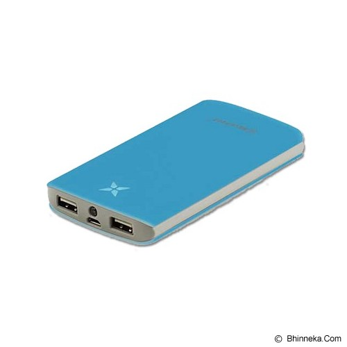 MICROPACK Powerbank 8000mAh - Blue - Portable Charger / Power Bank